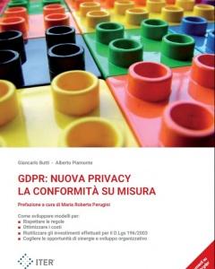 Copertina libro GDPR Nuova Privacy